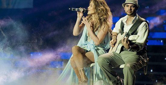 کنسرت بزرگ جنیفر لوپز در شهر آنتالیا ترکیه