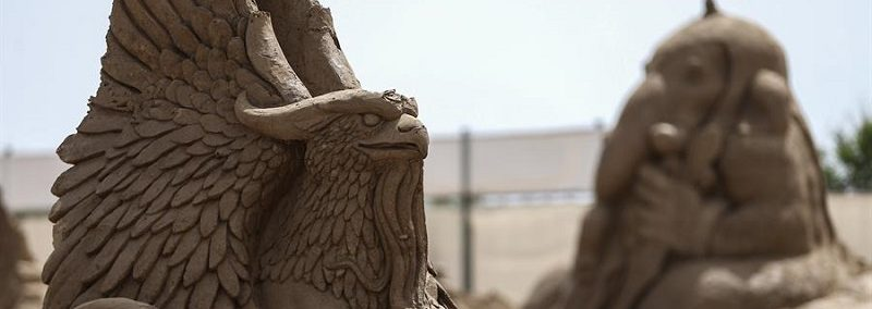 Turkey's international sand sculpture festival