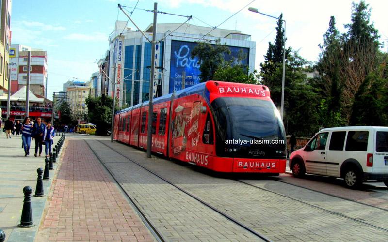 حمل و نقل عمومی در شهر آنتالیا
