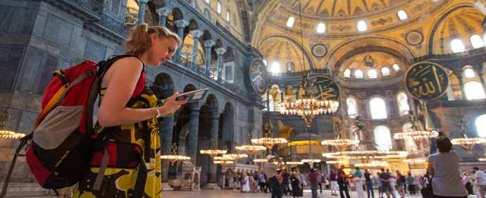 درآمد 65 میلیارد دلاری از صنعت گردشگری در ترکیه