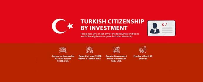 2 هزار و 611 سرمایه گذار خارجی شهروند ترکیه شدهاند