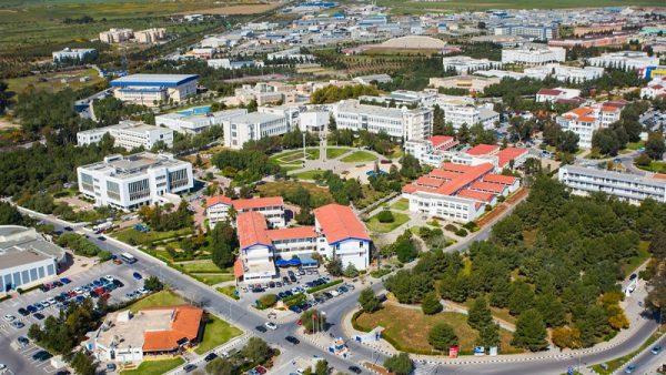 آک دنیز دانشگاه آنتالیا