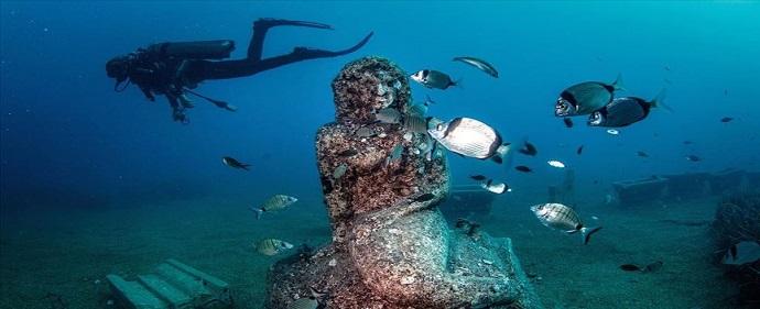 موزه زیر آبی ترکیه در سیده آنتالیا