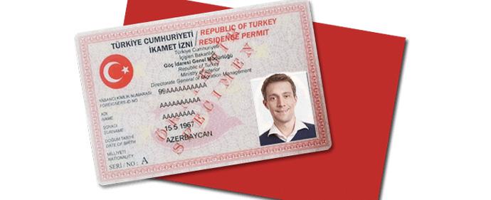 هزینه صدور کارت اقامت ترکیه