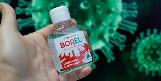 Borel, Turkey's Domestic hand sanitizer