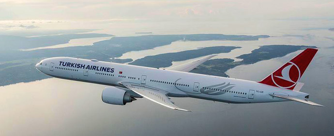 Turkish Airlines announced extending the suspension