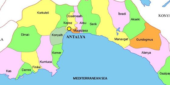 Antalya province has the most literate people in Turkey