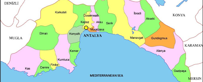 استان آنتالیا دارای بیشترین افراد با سواد در کشور ترکیه