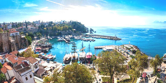 Foreign tourists, who prefer Antalya for their vacation due to coronavirus pandemic