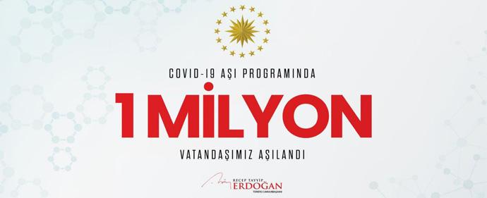 بیش از یک میلیون نفر در ترکیه در برابر کرونا واکسینه شدند