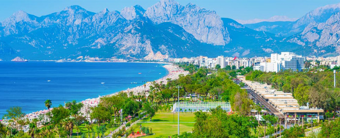 Antalya is the first choice of foreigners to live in Turkey