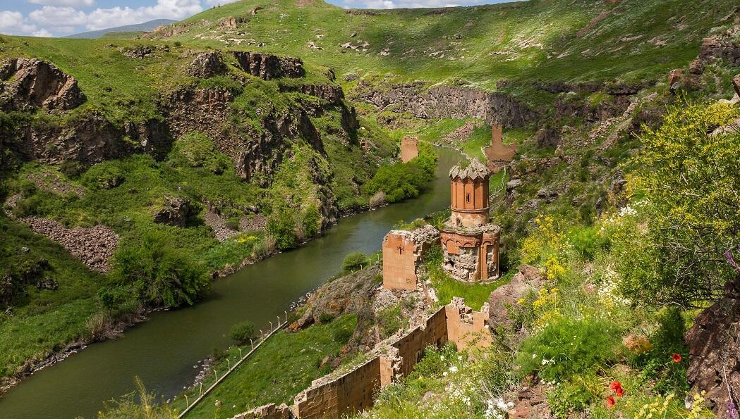 RIVER OF ARAS FROM ANI KARS