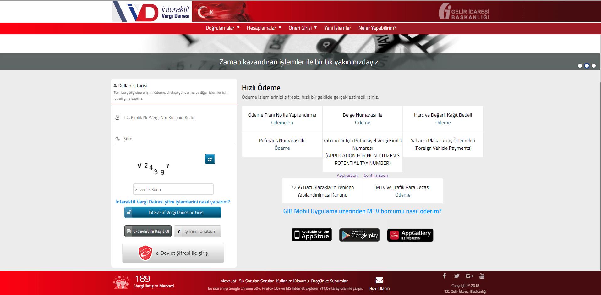 آموزش دریافت شماره مالیاتی در ترکیه