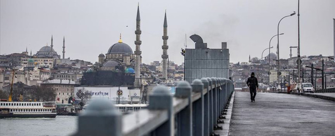 Full lockdown in Turkey from Thursday to stem the spread of coronavirus