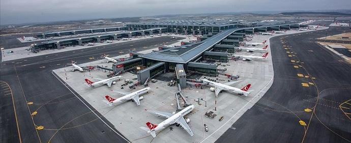 فرودگاه استانبول باز هم پرترددترین فرودگاه اروپا شد