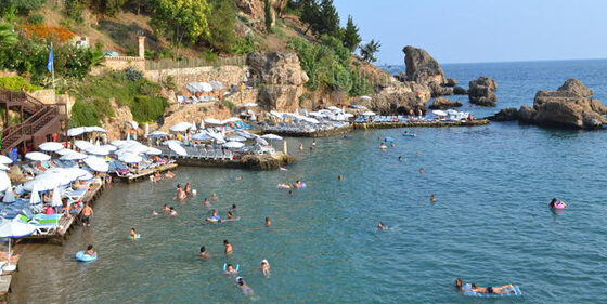 1.5 M tourists Visited Antalya in the first half of 2021