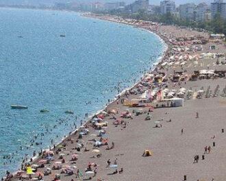 بیش از 3 میلیون گردشگر از آنتالیا بازدید کردند